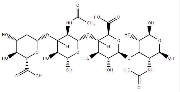 Molécula de ácido Hialuronico